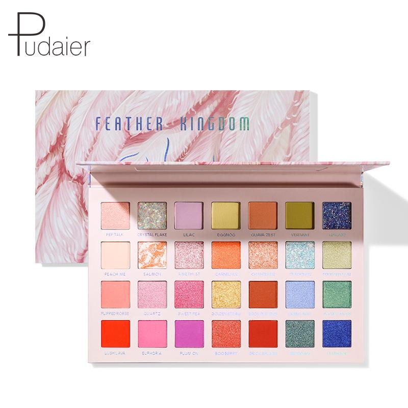 2020 Pudaier New Eyeshadow Palette | Feather Kingdom®