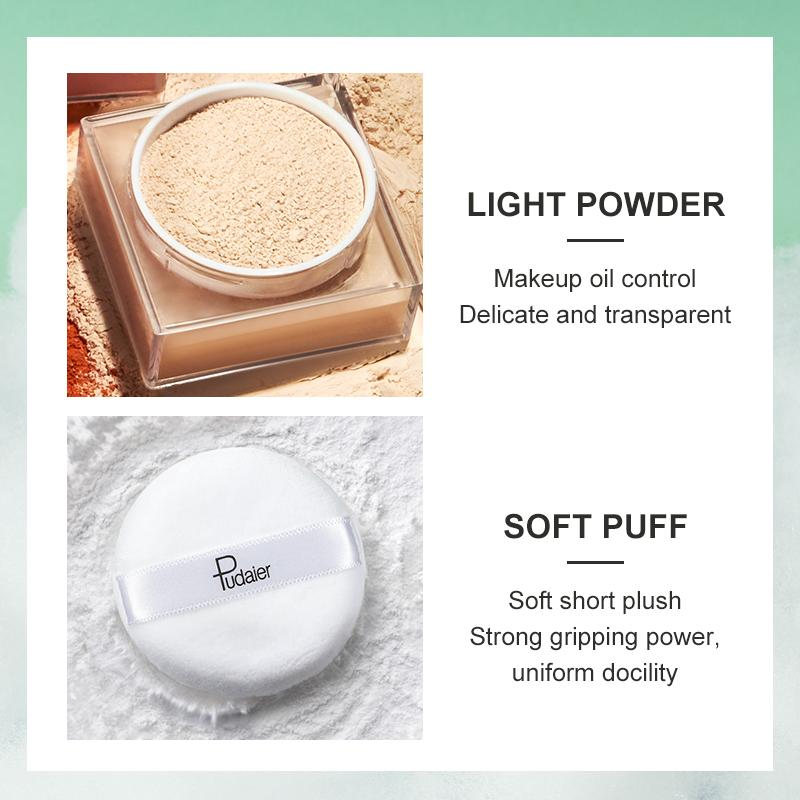 Pudaier® Translucent Loose Setting Powder