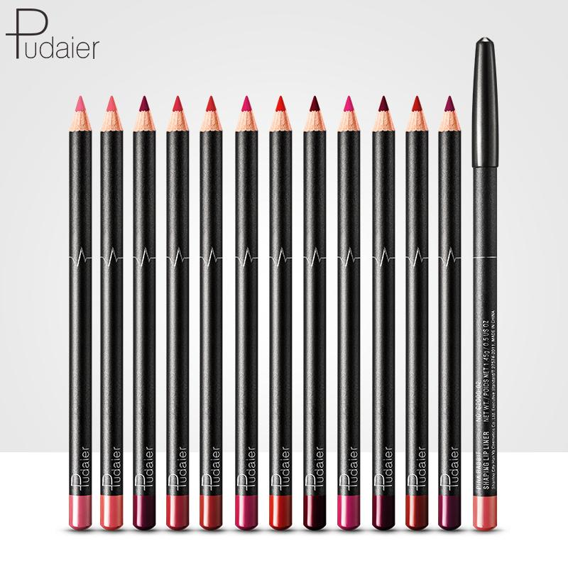 Lip Liner Pencil 12PCs Set