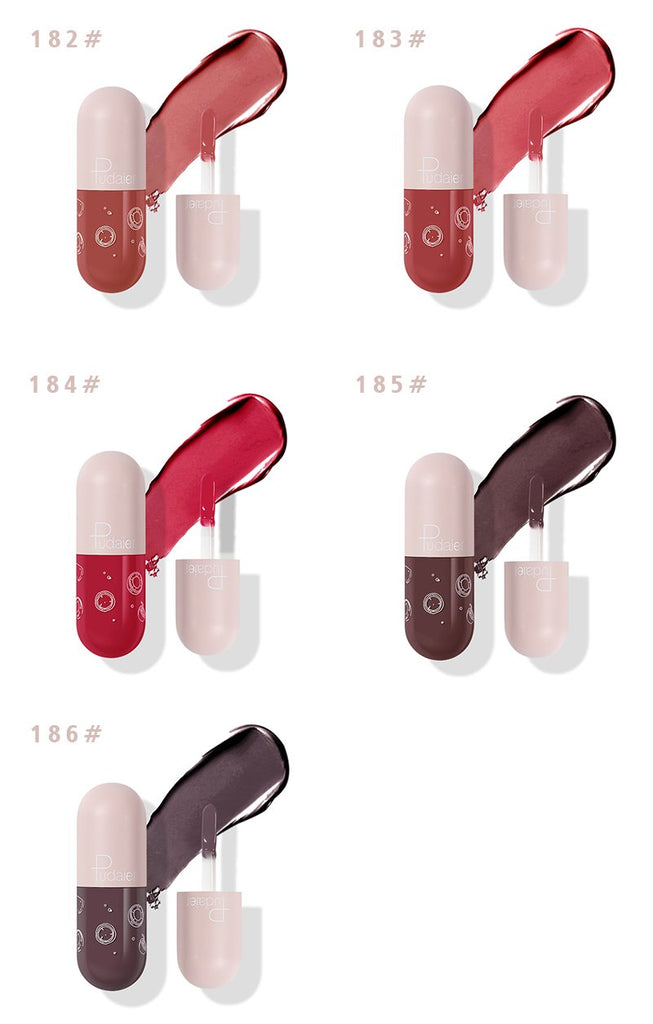 JULY 2020 Pudaier Mini Lip Capsule | High Gloss Back in Stock