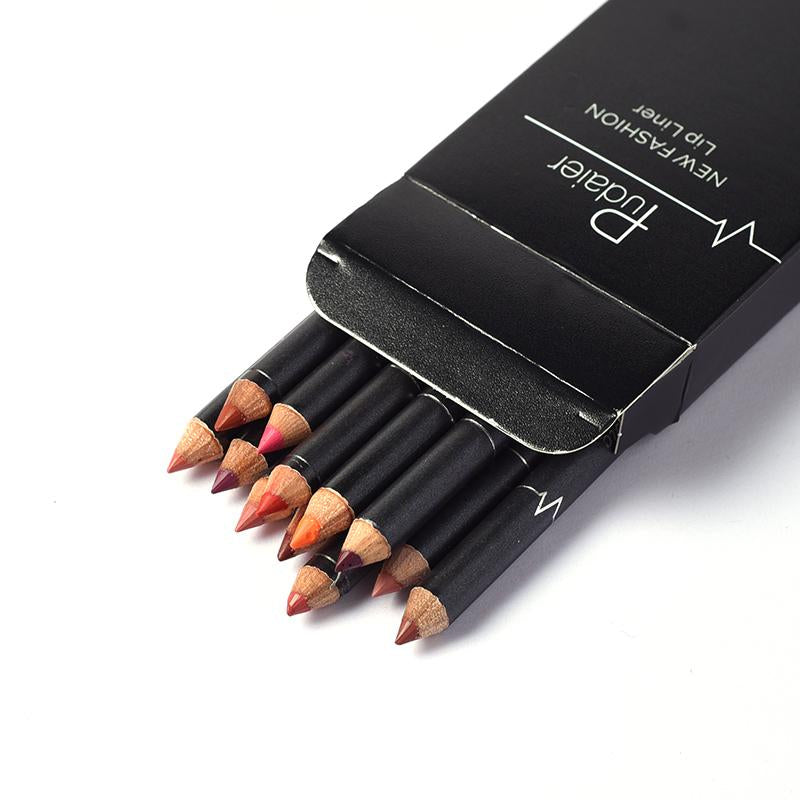 12 PCS Lip Liner Set