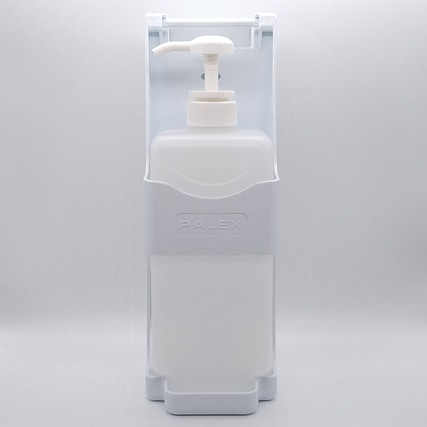 PALEX Elbow Operated Wall Mounted Hand Gel Sanitiser Dispenser 1 Litre