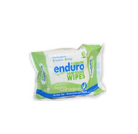 Enduro Sanitising Wipes Flowrap (40 Wipes)