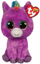 Load image into Gallery viewer, TY Rosette Unicorn - Beanie BOOS