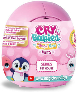 IMC Toys 91085 Cry Babies Magic Tears Pet House, Multi-Colour