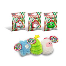 Load image into Gallery viewer, B-THERE Bundle of 3 Christmas Light Up Squishies & 3 Holiday Smushables