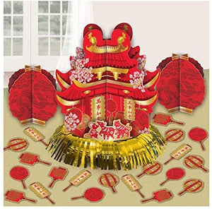 Chinese New Year, Foil Table Decorating Kit, 23 Ct.
