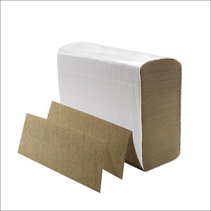 Karat JS-MFK4000 Multifold Paper Towels, Kraft (Pack of 4008)