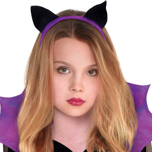 amscan Halloween Girl's Miss Battiness Costume