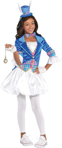 Girls Down The Rabbit Hole Costume - Small (4-6)