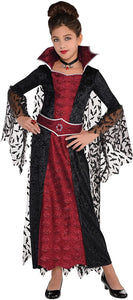 amscan 848091-55 Girl Coffin Queen Costume, 14-16 Years