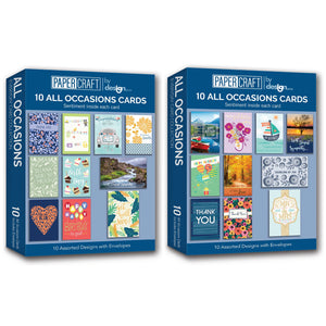 B-THERE All Occasion Greeting Cards Assortment Box Sets with Sentiment Inside 20 Pack