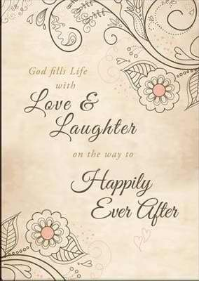 Warner Press 304838 Certificate - W-Love & Laughter Happily Ever After
