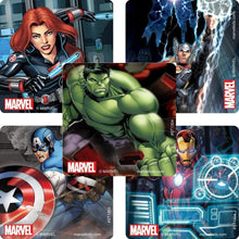Load image into Gallery viewer, Marvel Avengers Party Pack Seats 8 - Napkins, Plates, Cups & Stickers- The Avengers Powers Unite Party Supplies, Deluxe Party Pack