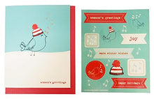Load image into Gallery viewer, The Gift Wrap Company Small Boxed Holiday Cards with Seals, Claus & Cane