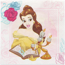 Load image into Gallery viewer, American Greetings Beauty and the Beast, Lunch Napkins, 16-Count