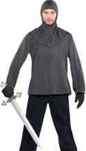 Load image into Gallery viewer, AMSCAN Chainmail Tunic and Cowl, One Size