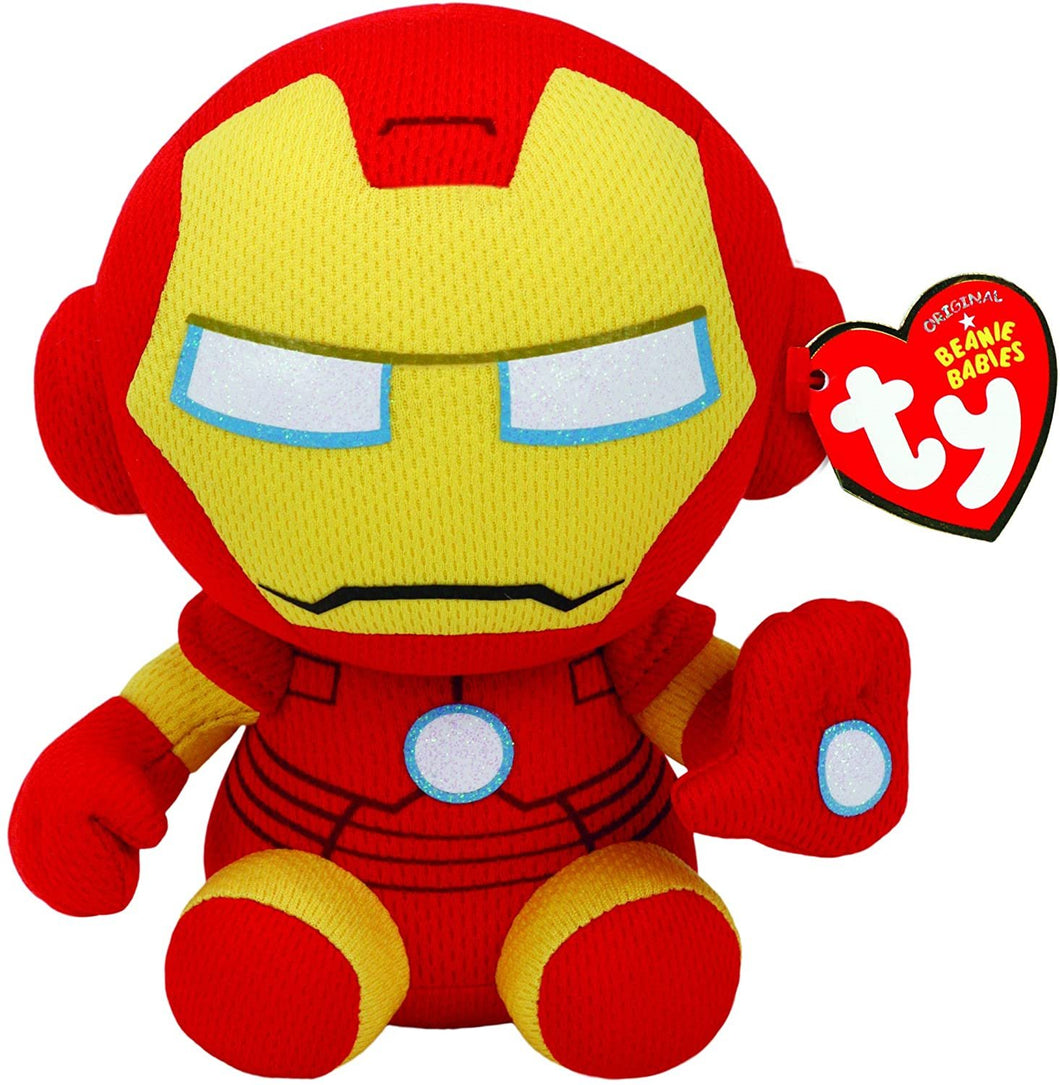 Ty Ironman Plush, Yellow, Regular
