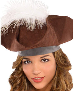 AMSCAN Castaway Pirate Halloween Costume for Women, Small, with Included Accessories