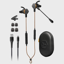 Load image into Gallery viewer, ToughTested - Transformer Convertible Bluetooth Noise Cancelling Earbuds Extra Bass, EQ Voice & 10+ Hours Battery Life