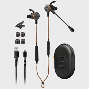 ToughTested - Transformer Convertible Bluetooth Noise Cancelling Earbuds Extra Bass, EQ Voice & 10+ Hours Battery Life