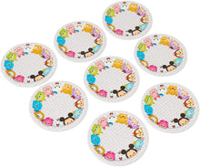 Load image into Gallery viewer, American Greetings Tsum Tsum Paper Dessert Plate, 8 Count