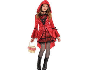 Amscan Gothic Riding Hood Child Costume