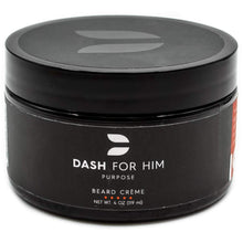 Load image into Gallery viewer, Dash For Him Beard Crème (Cream) Nourishment to Soften & Moisterize for All Beard Lengths