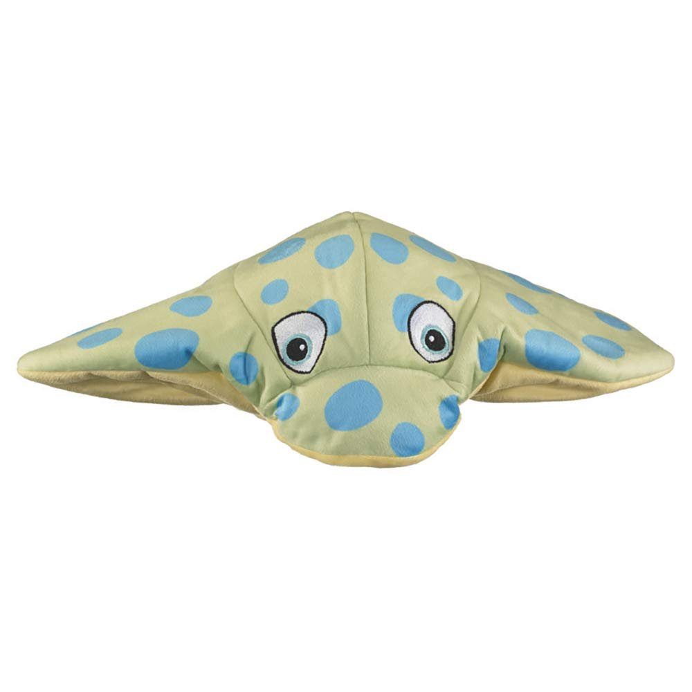 Wild and Wonderful Hats by Wildlife Artists Blue Spotted Ray Plush Stuffed Animal Hat, Childrens Toy Animal Hat