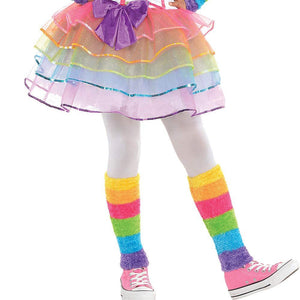 AMSCAN Rainbow Unicorn Halloween Costume for Girls, Small, with Included Accessories