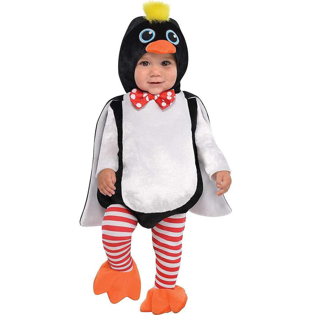 Baby Waddles The Penguin Costume - 0-6 Months