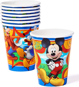 American Greetings Mickey Mouse Party Supplies, 9 oz. Paper Cups, 8-Count