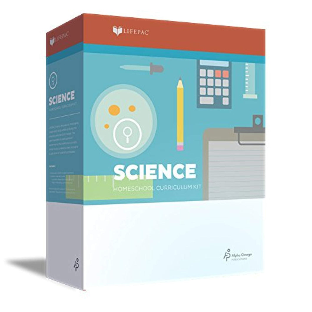 Lifepac Science 5 Homeschool Curriculum Kit for 5th Grade