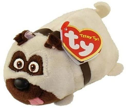 Ty TY42191 Mel Dog SLOP Teeny, Multicolored