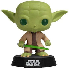 Load image into Gallery viewer, Funko Yoda Star Wars Pop