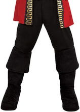 Load image into Gallery viewer, amscan 8400018 Boys Pirate Captain Costume - Toddler (3-4) 1 Set, Multicolor, One Size
