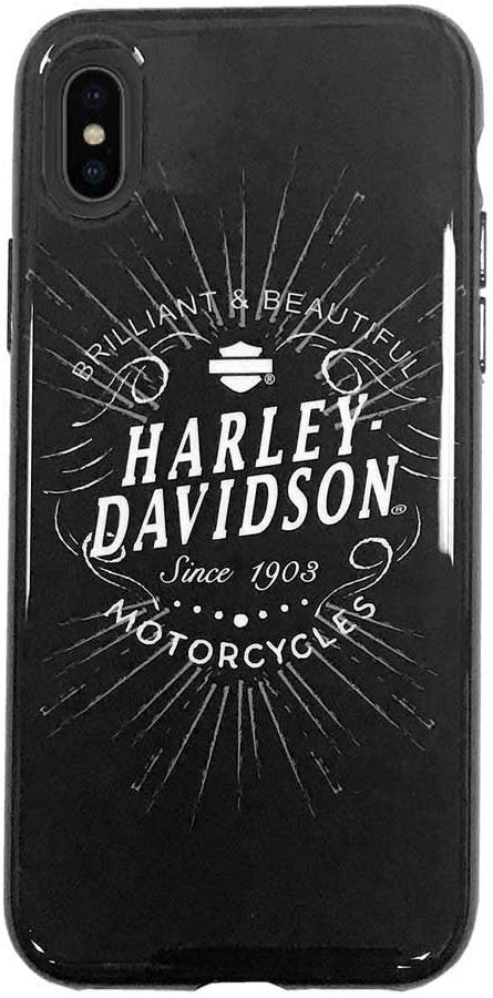 HARLEY-DAVIDSON Venture Brilliant Script iPhone X/XS Phone Case, Black 9511