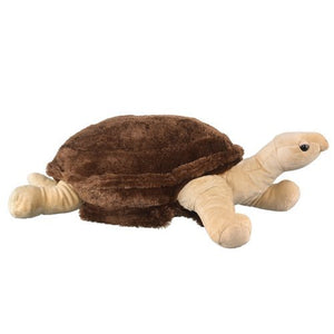 "Galapagos Tortoise Extra Large Plush Toy 31"" L By Wildlife Artists"