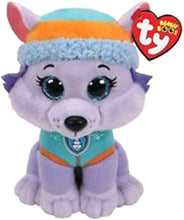 Load image into Gallery viewer, Ty Licensed Beanies - Paw Patrol Tracker & Everest 2 pc Set - 8""