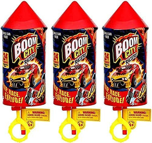 Boom City Racers Car (3 Mystery Packs)