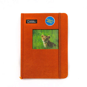 "Gift Wrap Company National Geographic Zoo Journal - 160 Ruled Pages. Daily Notebook Journal Size: 5.5"" X 7.25"""