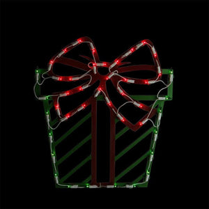 "Impact Innovations IMPACT 95213 16"" Lighted Red and Green Present Ch,"