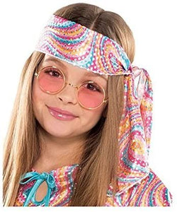 Suit Yourself Disco Diva Halloween Costume for Girls, Includes Headscarf