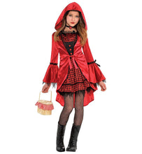 Load image into Gallery viewer, Amscan Gothic Riding Hood Child Costume