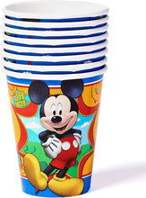 Load image into Gallery viewer, American Greetings Mickey Mouse Party Supplies, 9 oz. Paper Cups, 8-Count