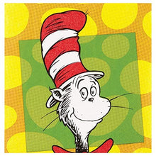 Load image into Gallery viewer, Dr. Suess Party Pack Seats 8 - Napkins, Plates, Cups, Cutlery - Party Supplies Decorations, Standard Party Pack