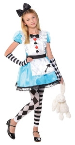 Amscan 847882 Girls Alice Costume - Small (4-6), Multicolor