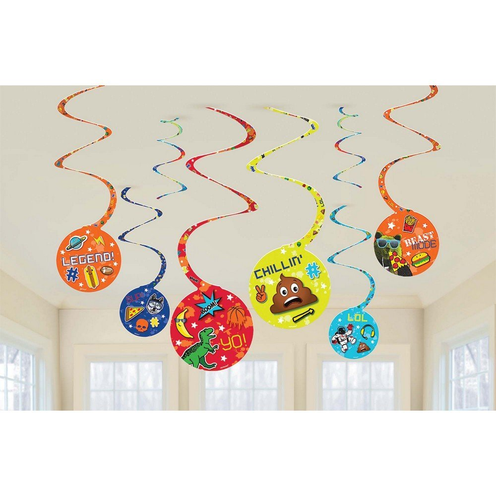 amscan - Epic Party Swirl Decoration (8)