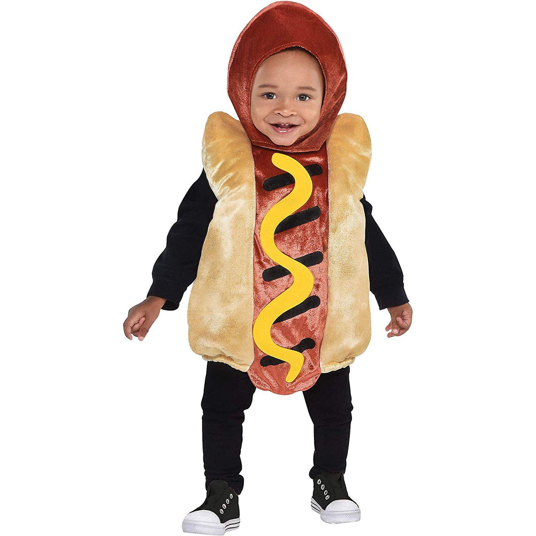 Suit Yourself Mini Hot Dog Halloween Costume for Babies, with Included Accessories