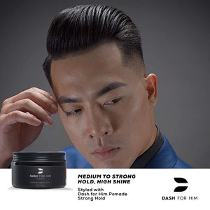 Dash For Him Hair Pomade for Men, Pliable Mens Pomade That Gives a Firm Strong Hold